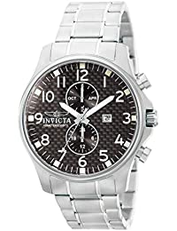 Invicta Specialty Men's Analogue Classic Quartz Watch with Stainless Steel Bracelet – 0379