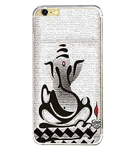 PrintVisa Lord Shri Ganesh Ganesha High Glossy Metal Designer Back Case Cover for Apple iPhone 6 Plus :: Apple iPhone 6+