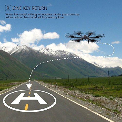 Live Video FPV Drohne mit Kamera MJX X600 Drone Quadcopter Throttle Limit Ein Key rückwärts VR Kompatibel - 6