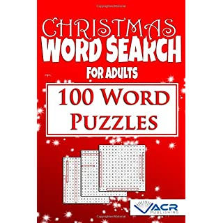 Christmas Word Seach: 100 Word Puzzles