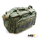 Best Tackle Bags - CARP PIKE FISHING TACKLE BAG HOLDALL CAMO NGT Review