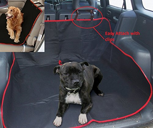Generic NV _ 1001002680_ yc-uk2ersalear Schutz über Auto Kofferraumwanne ctive Wasserdicht rproo Rücksitzbezug Pets Hund Pets Heizmatte Universal KFZ Boo