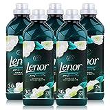 Lenor Smaragd & Elfenbeinblüte Weichspüler 900ml / 30 Waschladungen (5er Pack)