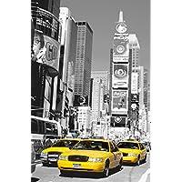 """Wizzard & Genius 650""""Times Square"""" papel pintado–Multicolor (Pack de 12)"""