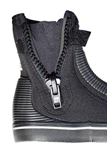 Musto , Chaussures bateau pour homme Noir