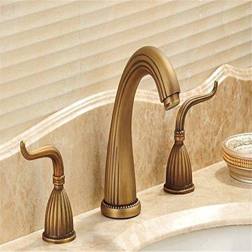 Robinet/robinet double poignée/robinet en laiton/robinet antique/robinet chaud et froid du bassin/modèles d'explosion