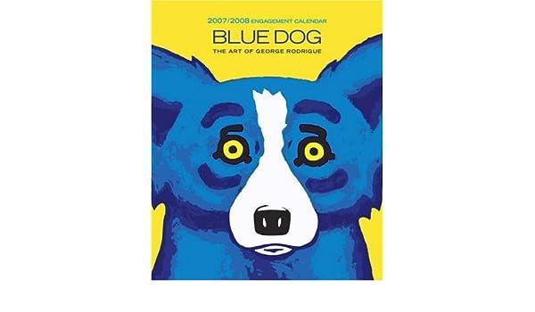 blue dog 2007 calendar