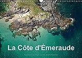 La côte d'Emeraude : Photo aérienne de la Côte d'Emeraude. Calendrier mural A3 horizontal 2016