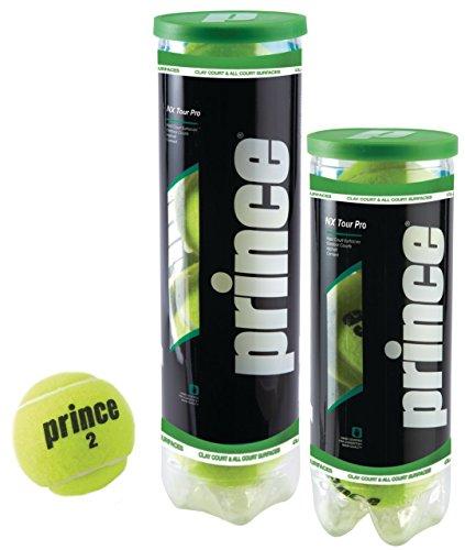 Prince Unisex NX Tour Pro-Extra Duty Tenis, Amarillo, Lata de 4 Bolas