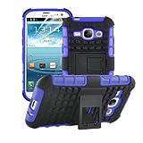 betterfon | Outdoor Handy Tasche Hybrid Case Schutz Hülle Panzer TPU Silikon Hard Cover Bumper für Samsung Galaxy S3 / S3 Neo Blau
