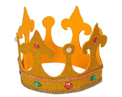 achsene Könige Hohe königliche Krone (Erwachsene Verstellbar König Krone)