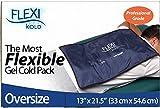 FlexiKold Pack de Glace Réutilisable | Poche Froide à Congeler de Thérapie Sportive - Soulage la Douleur et Soigne | Pliable, Flexible et Résistant | Usage Professionnel | Grande Taille - 54 x 33 cm