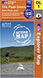 The Peak District - Dark Peak Area (OS Explorer Map Active)