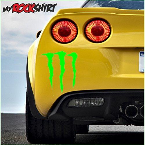 Monster garra 30* 20Auto decorativo para coche, muchos colores a elegir Auto...