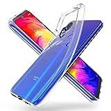 ORNARTO Durchsichtig Kompatibel mit Redmi Note 7 Hülle, Transparent TPU Flexible Silikon Handyhülle Schutzhülle Case für Xiaomi Redmi Note 7(2019) 6,3