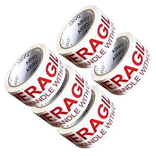 Fragile Packing Tape 5 Pack