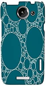 Timpax protective Armor Hard Bumper Back Case Cover. Multicolor printed on 3 Dimensional case with latest & finest graphic design art. Compatible with HTC one X+ ( Plus ) Design No : TDZ-23428