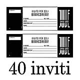 Marpimar Juventus INVITI Festa di Compleanno 40 INVITI