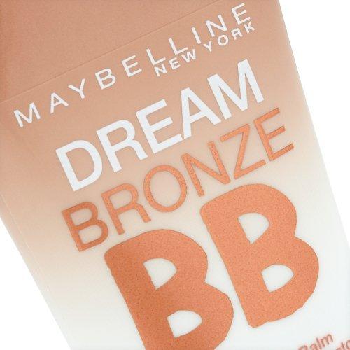 Maybelline New York Dream Bronzer BB Light-Medium 01 / Bräunungspuder in hellem und mittlerem Braun, für eine strahlende Bräune im Gesicht, 1 x 0,03 l
