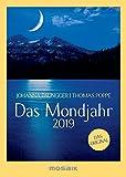 Das Mondjahr 2019: s/w-Taschenkalender - Das Original - Johanna Paungger, Thomas Poppe