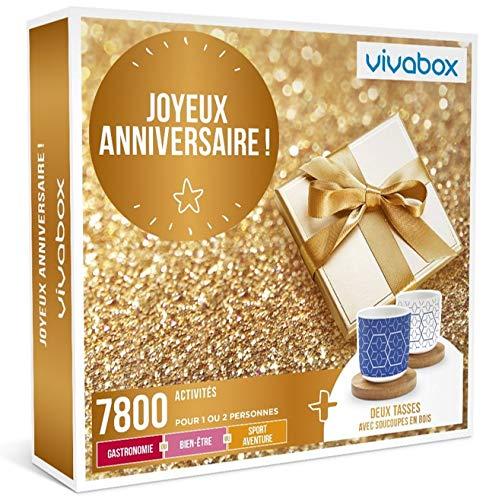 Vivabox - Coffret cadeau anniversaire - JOYEUX ANNIVERSAIRE ! - 7800 activités au...