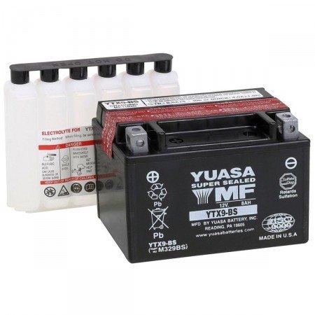 Suzuki 400-600-650bandit-650gsxf-600gsr-600-750gsxr-750gsxf-batterie Yuasa YTX9-BS