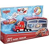 Mattel Disney Cars CKD34 - Spielbahnen, Macks Farbwechsel Station
