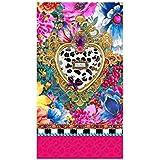 Melli Mello Toalla Playa Zaira Multicolor/Azul/Rosa 100 x 180 cm