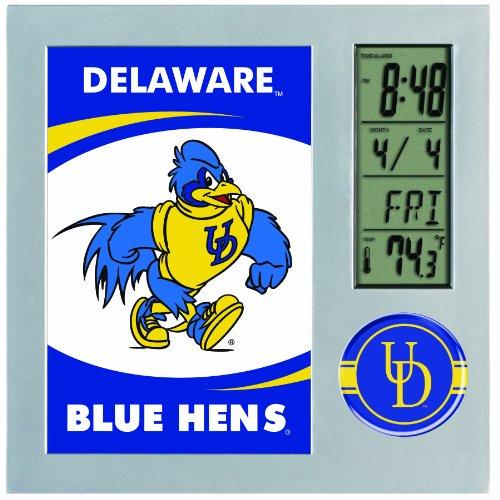 ncaa-delaware-blue-hens-digital-desk-clock-picture-frame