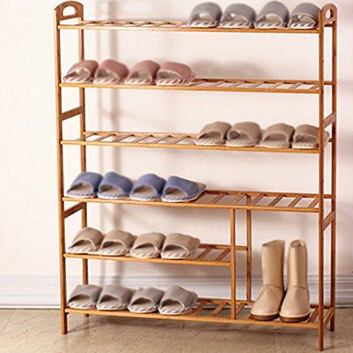ILQ Chaussure Simple Racks Économique Multi Étage Simple Moderne De Stockage De Chaussures Armoire De L'Assemblée Dortoir Fer Créatif,90 35 45cm,Violet