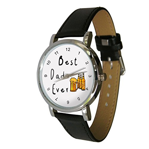 Best Dad Ever Wristwatch - Fathers Day watch