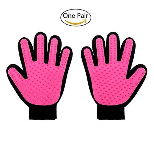 Motorrad Krallen Mit Handschuhe (Pet Hund Katze Badebürste Handschuh,Stillshine - Effiziente Reinigung reinigen und Massieren Handschuh)