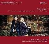 Widmungen. uvres pour piano et lieder de Schubert, Liszt, Schumann et Godowsky. Vilmar, Youn.