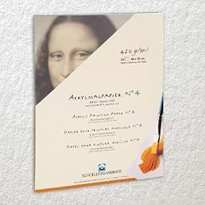 Schoellershammer Acrylmalpapier 30 x 40 cm Profi-Qualität N°4