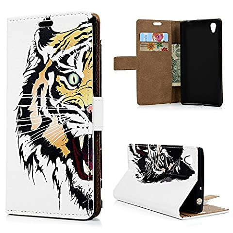 Sony Xperia L1 Case, YOKIRIN PU Leather Wallet Case Cover With Magnetic Card ID Holder Flip Case for Sony Xperia L1,