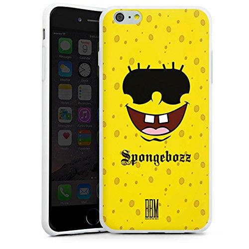 Apple iPhone X Silikon Hülle Case Schutzhülle Spongebozz BBM Fanartikel Merchandise Silikon Case weiß