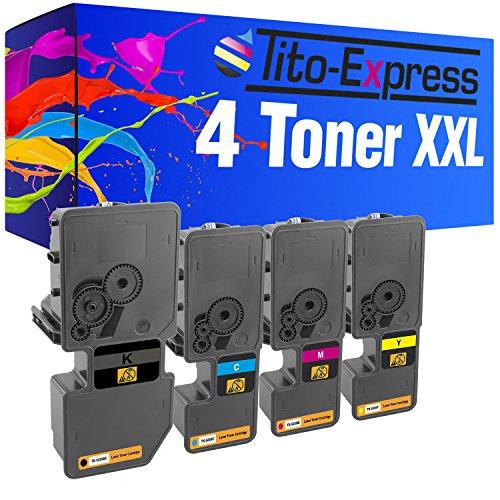 4 Toner XXL PlatinumSerie® für Kyocera TK-5230 ECOSYS M5521CDW M5521CDN P5021CDN P5021CDW M5521 P5021 CDW M5521 P5021 CDN M 5521CDW 5521CDN P 5021CDN 5021CDW