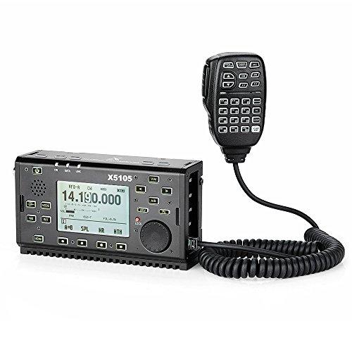 XIEGU X5105 Portable HF Transceiver OUTDOOR VERSION, 500kHz-30MHz