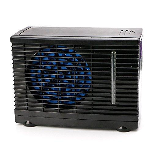 Aire Acondicionado Portátil para Automóviles 12V Ajustable 60W Acondicionador De Aire del Coche Enfriador Ventilador De Refrigeración Agua Refrigerante Evaporativo