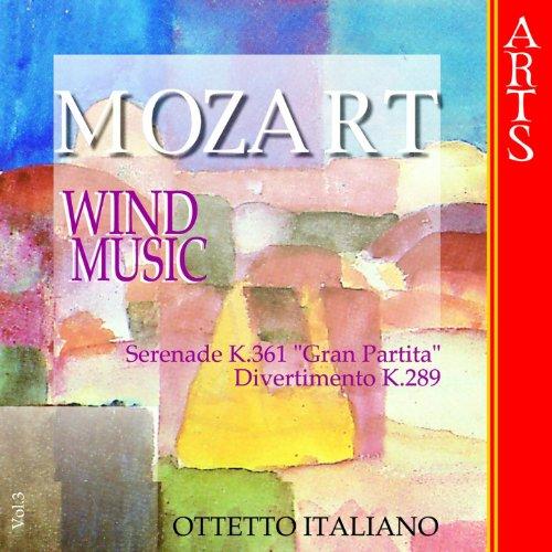 W.A. Mozart: Music for Wind Musics - Vol. 3
