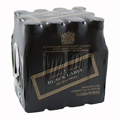 Johnnie Walker Black Label Blended Whisky 5cl Miniature - 12 Pack from Johnnie Walker