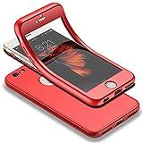 Für iPhone 6s Hülle + Panzerglas, HICASER 360 Grad