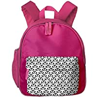 Black and White Pandas Students Book Bag Children Schoolbags Backpacks for Teens Boys Girls
