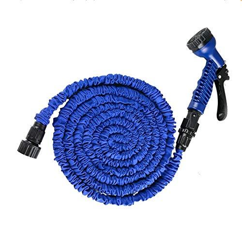MCL-schlauchaufroller Gartenausdehnungsschlauch 25FT, 3-Fach Flexibler Ausdehnungswasserschlauch | Verbindungsstücke Für Magische Schläuche | 7 Funktionsspritzpistole - Wagen Tür-hardware