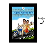 Huppme Personalized Bike Couple A4 Frame...