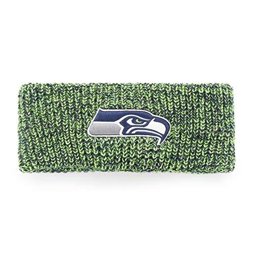 NFL Seattle Seahawks Women's Brilyn OTS Headband, Light Navy, Women's (Womans Seahawks Hut)