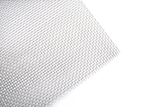 Bewehrungsnetz V4A Edelstahl 1000 x 500 mm - Gewebe Netz Gitter zum Kunststoffschweissen (100x50cm) - Gitter-gewebe
