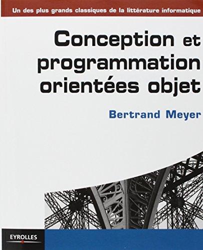 Conception et programmation orientées objet