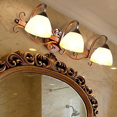 specchio LED bagno luce luce del bagno mobile europeo specchio