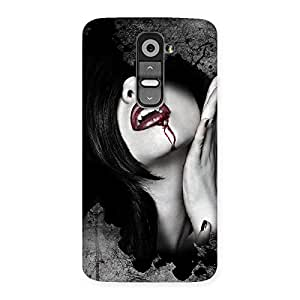 Special Wonder Lips Red Back Case Cover for LG G2